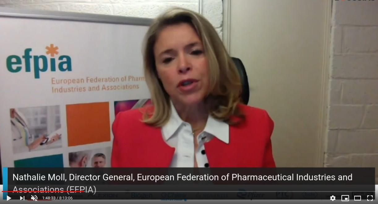 Nathalie Moll – EFPIA: Η καινοτομία έχει νόημα μόνο εάν οι ασθενείς έχουν πρόσβαση σε αυτήν