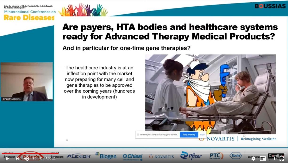 Χρήστος Δάκας: Είναι τα συστήματα υγείας έτοιμα για ΑΤΜΡs;
