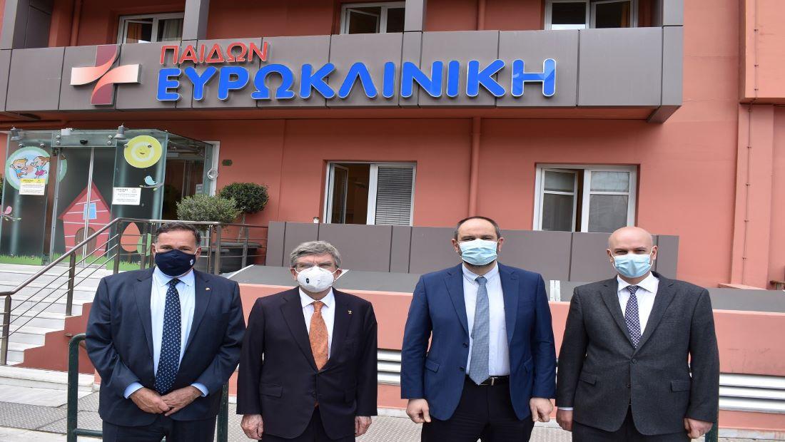 Την Ευρωκλινική Αθηνών εμπιστεύτηκε o Πρόεδρος της Διεθνούς Ολυμπιακής Επιτροπής Τόμας Μπαχ για προληπτικό μοριακό έλεγχο COVID-19
