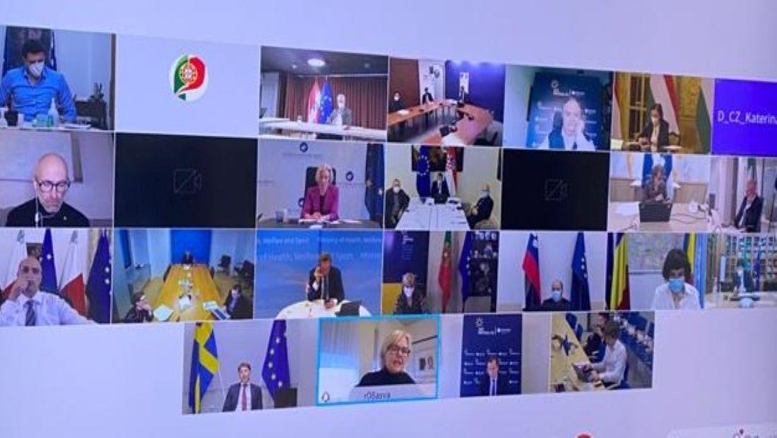 Οι υπουργοί υγείας της ΕΕ δεν συμφώνησαν σε κοινή γραμμή σχετικά με το εμβόλιο AstraZeneca