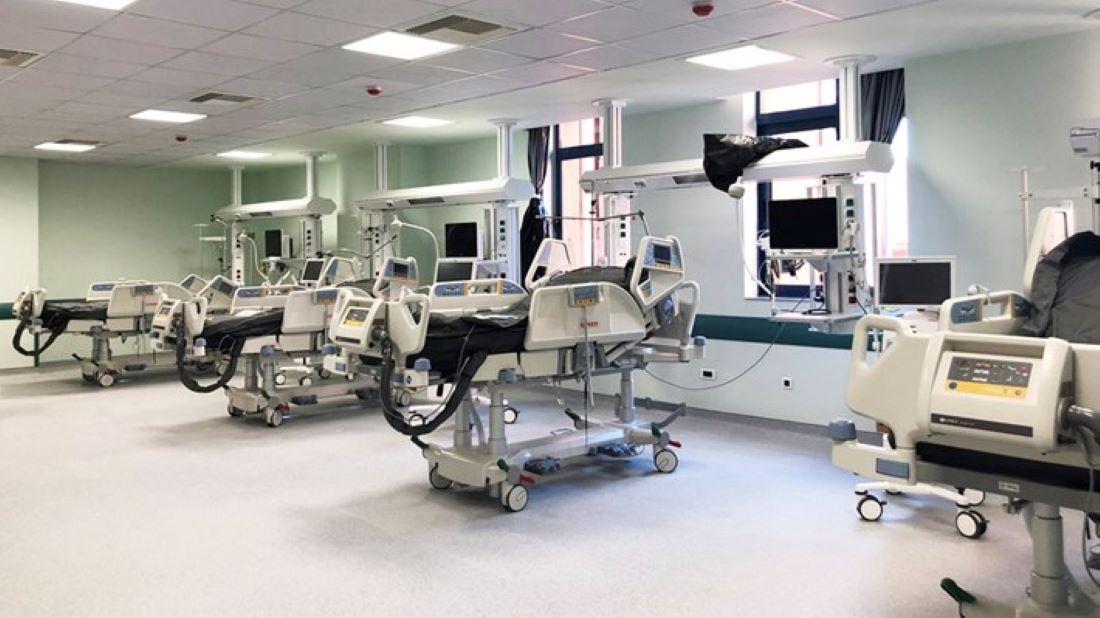 ΙΣΝ: Ολοκλήρωση χώρων για την προσθήκη 145 νέων κλινών ΜΕΘ και ΜΑΦ