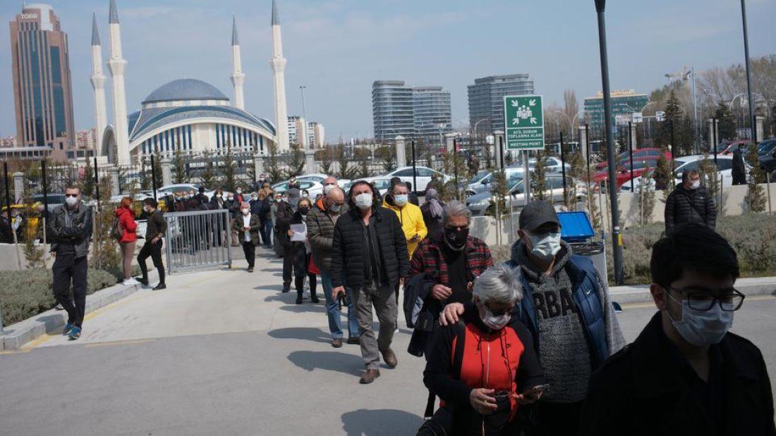 Τουρκία: Ολικό lockdown έως τις 17 Μάϊου