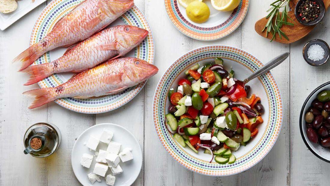 Μεσογειακή δίαιτα: ευεργετική επίδραση έναντι της covid-19