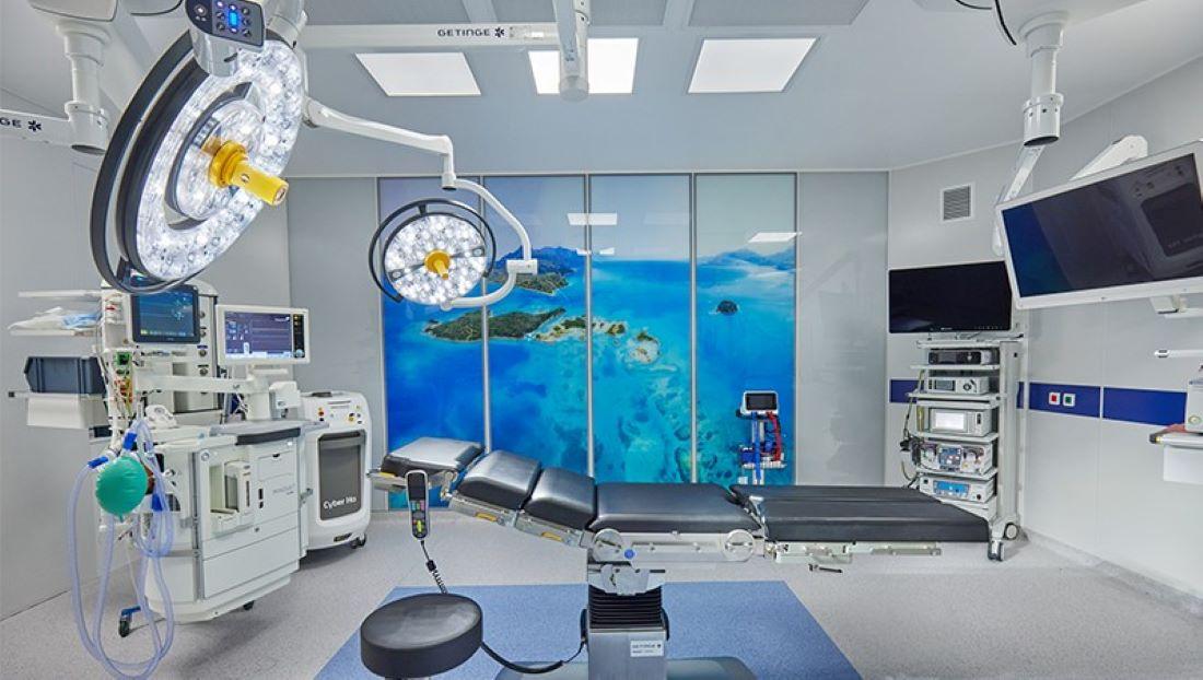 Η πρώτη υπερσύγχρονη, πλήρως ψηφιακή χειρουργική αίθουσα modular τοιχοποιίας στην Ελλάδα