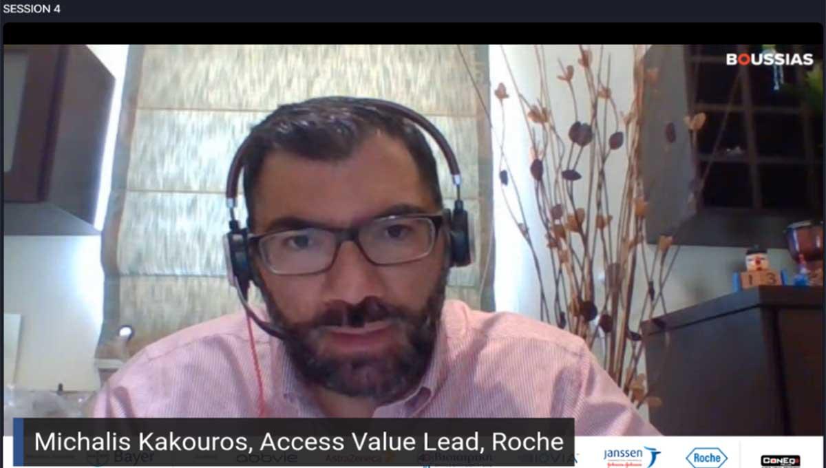 Μιχάλης Κακούρος, Roche: Value Based Healthcare και οικοδόμηση ενός βιώσιμου συστήματος υγειονομικής περίθαλψης