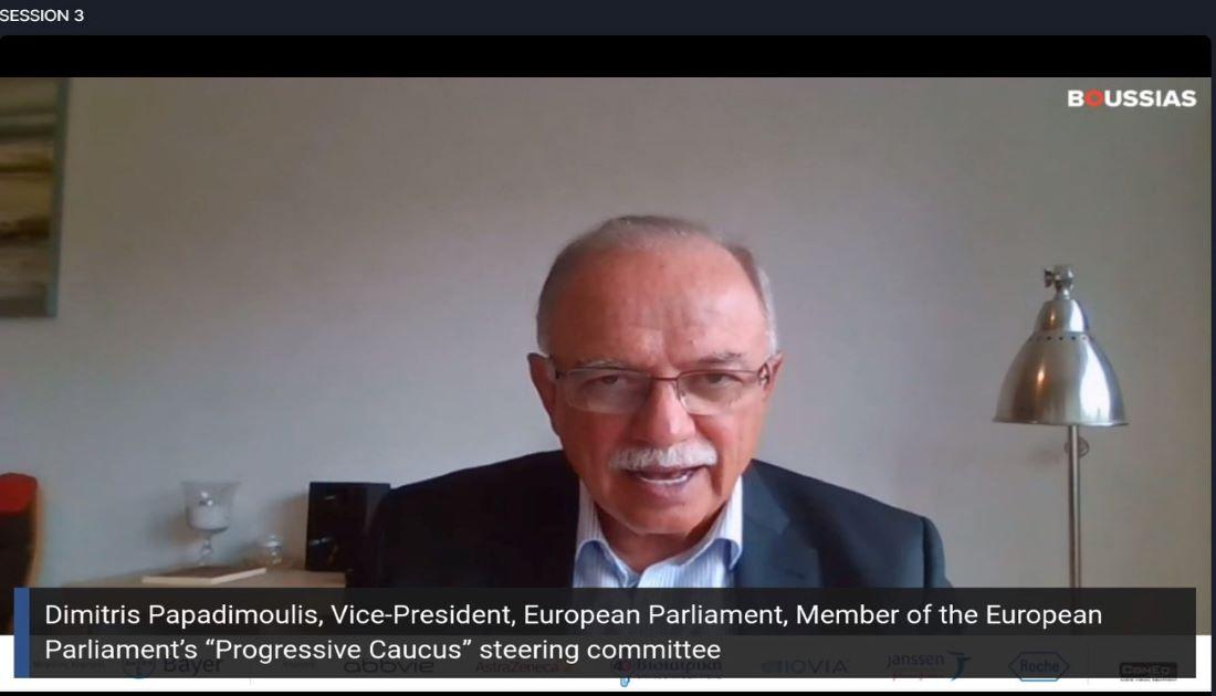 Δημήτρης Παπαδημούλης: Θέλουμε να μπουν τα θεμέλια για μια κοινή ευρωπαϊκή πολιτική υγείας