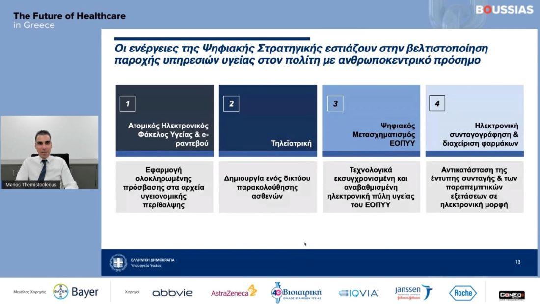 Μ. Θεμιστoκλέους: Η εμπειρία από τους εμβολιασμούς πολύτιμη για τον σχεδιασμό της ΠΦΥ